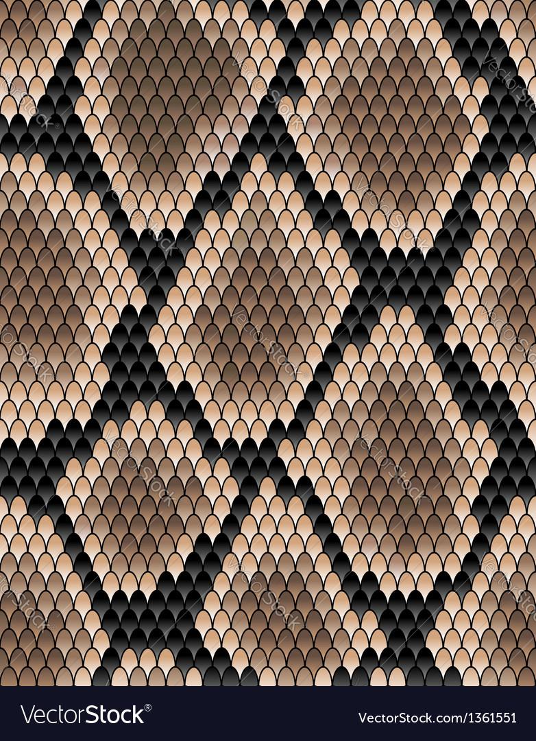 Seamless pattern snake skin