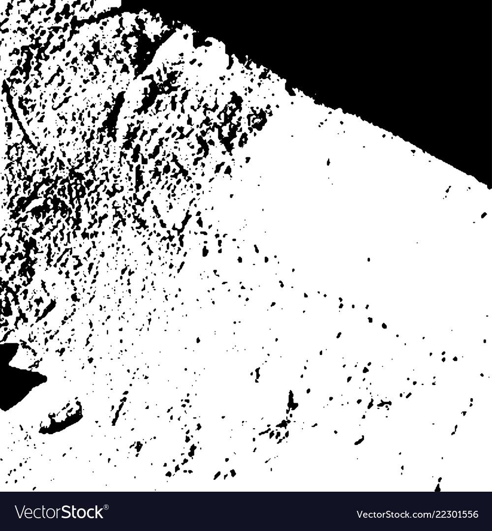 Grunge black textures on white background