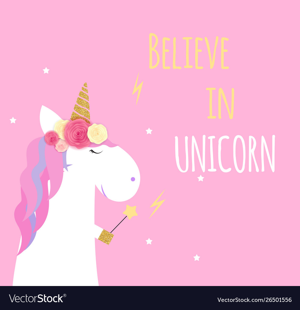 Super unicorn background