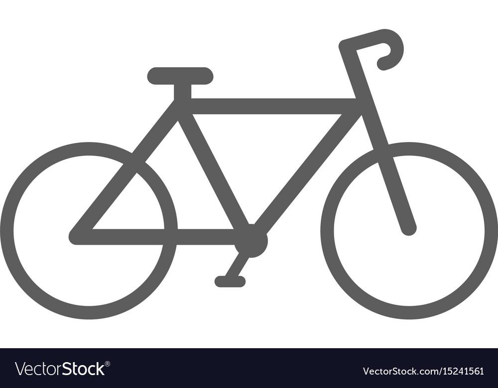Bike sport icon vector image