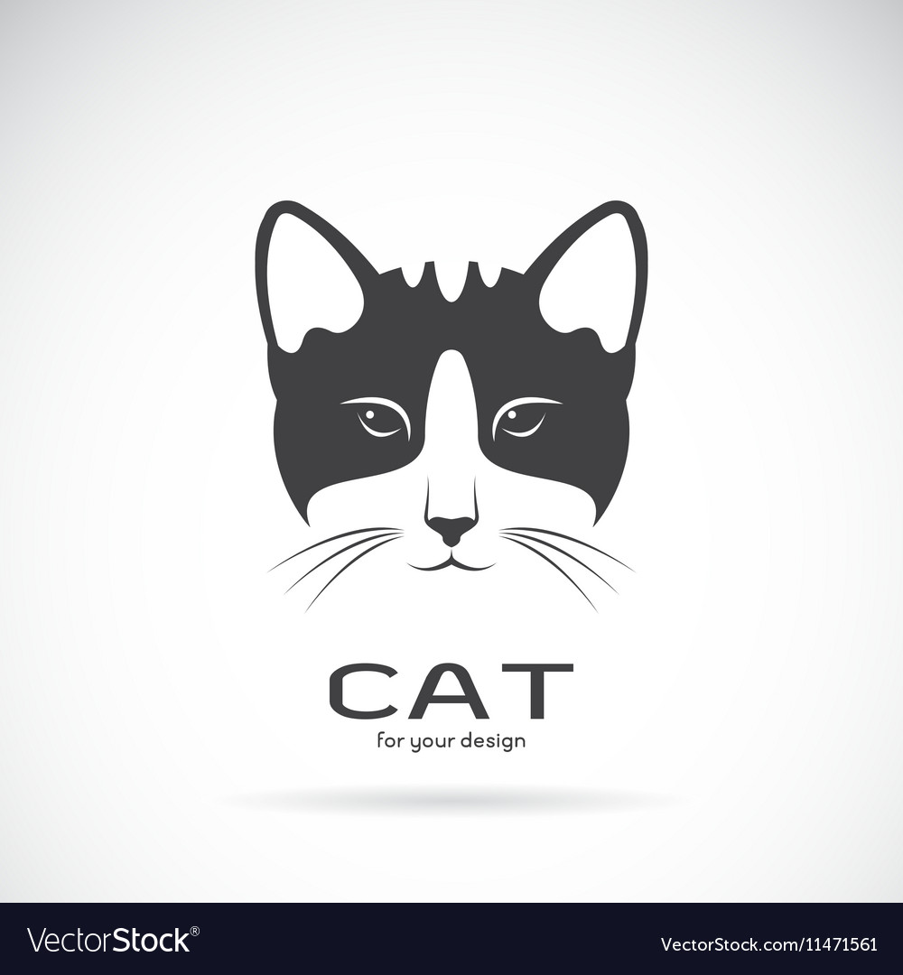 Image of an cat face design