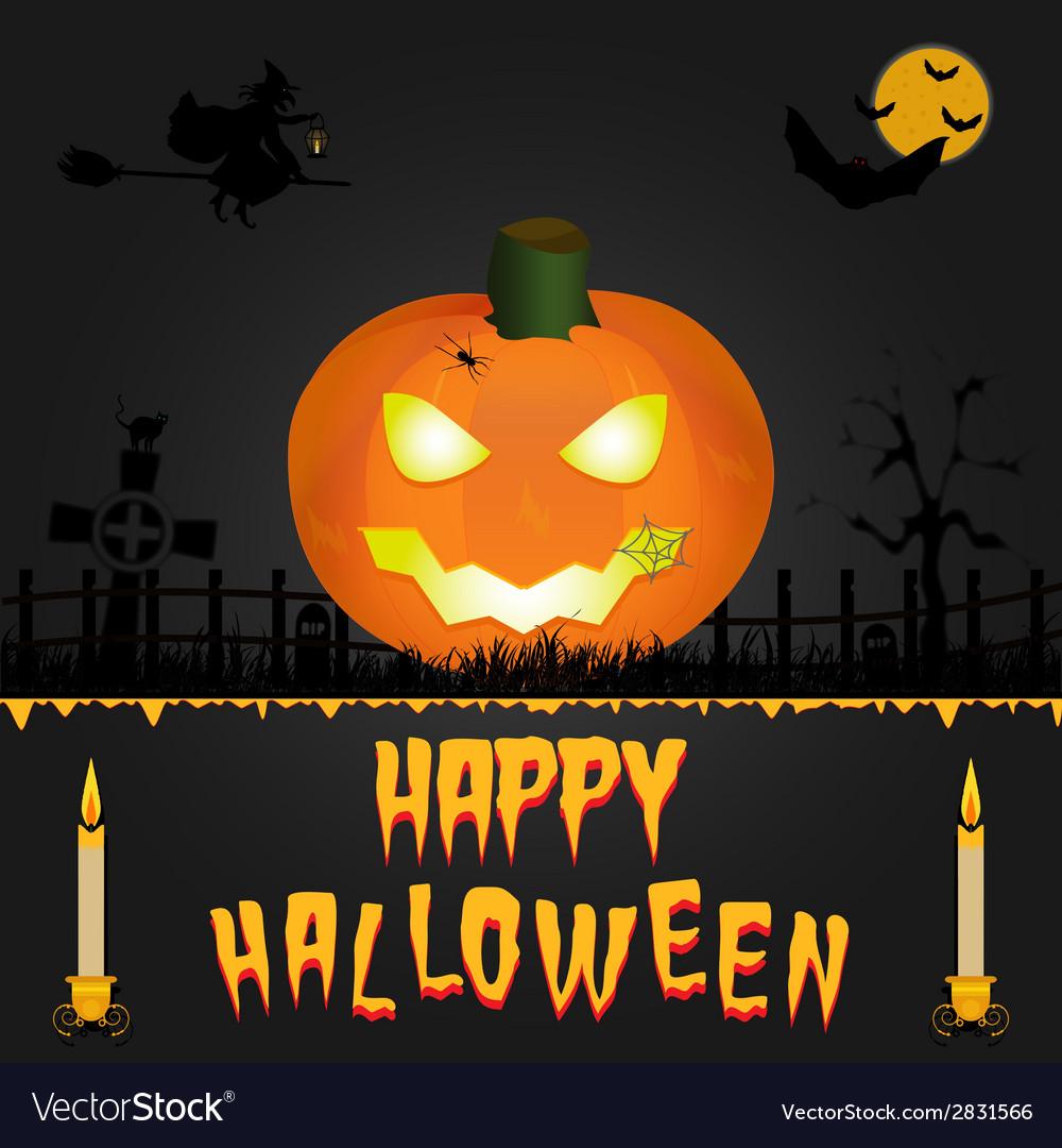 Happy Halloween card Art