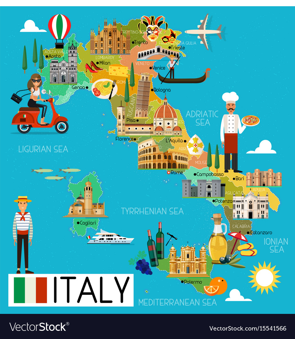 Pdf Map Of Italy.Italy Travel Map