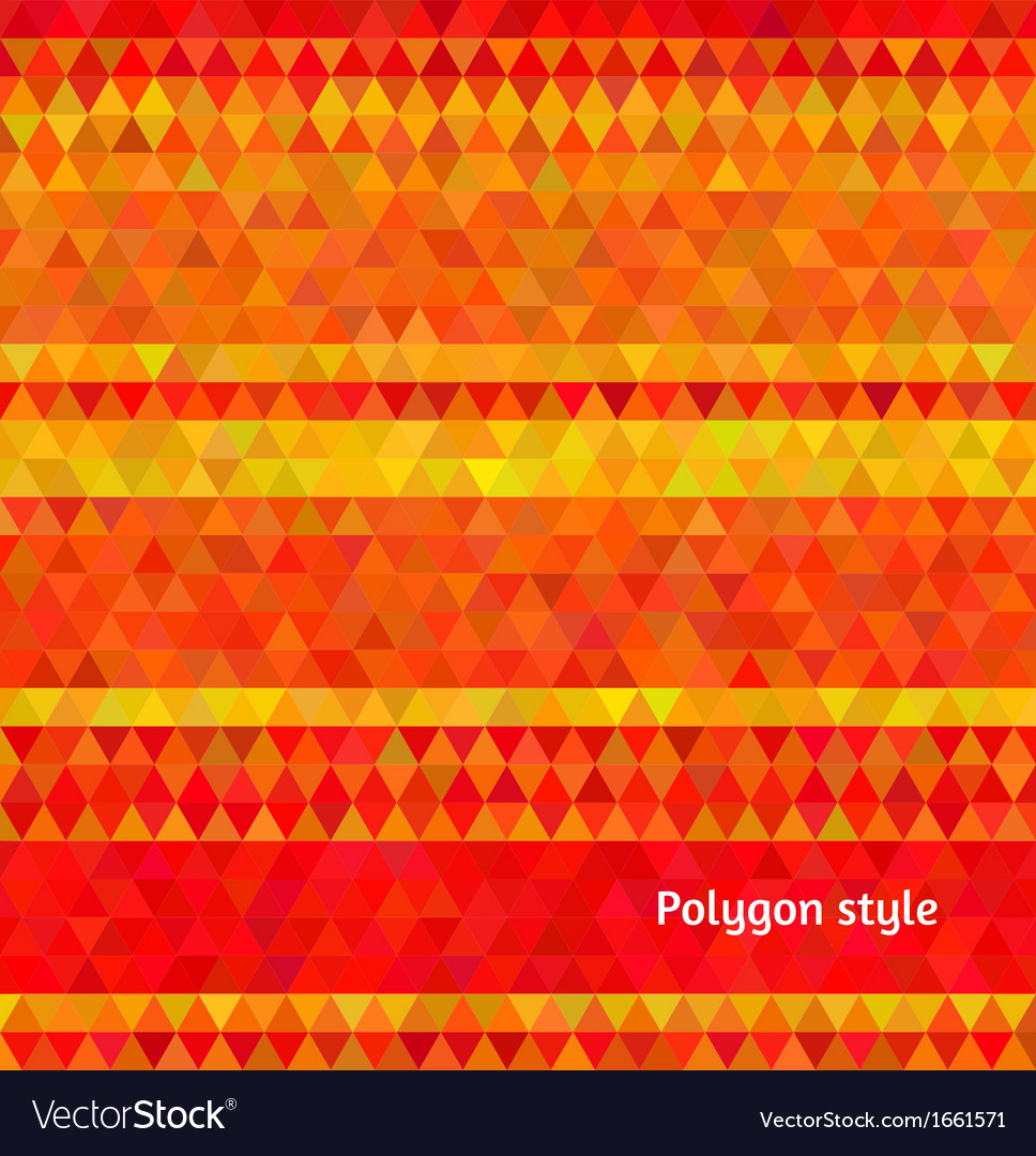 Abstract Background Polygon Mosaic Style