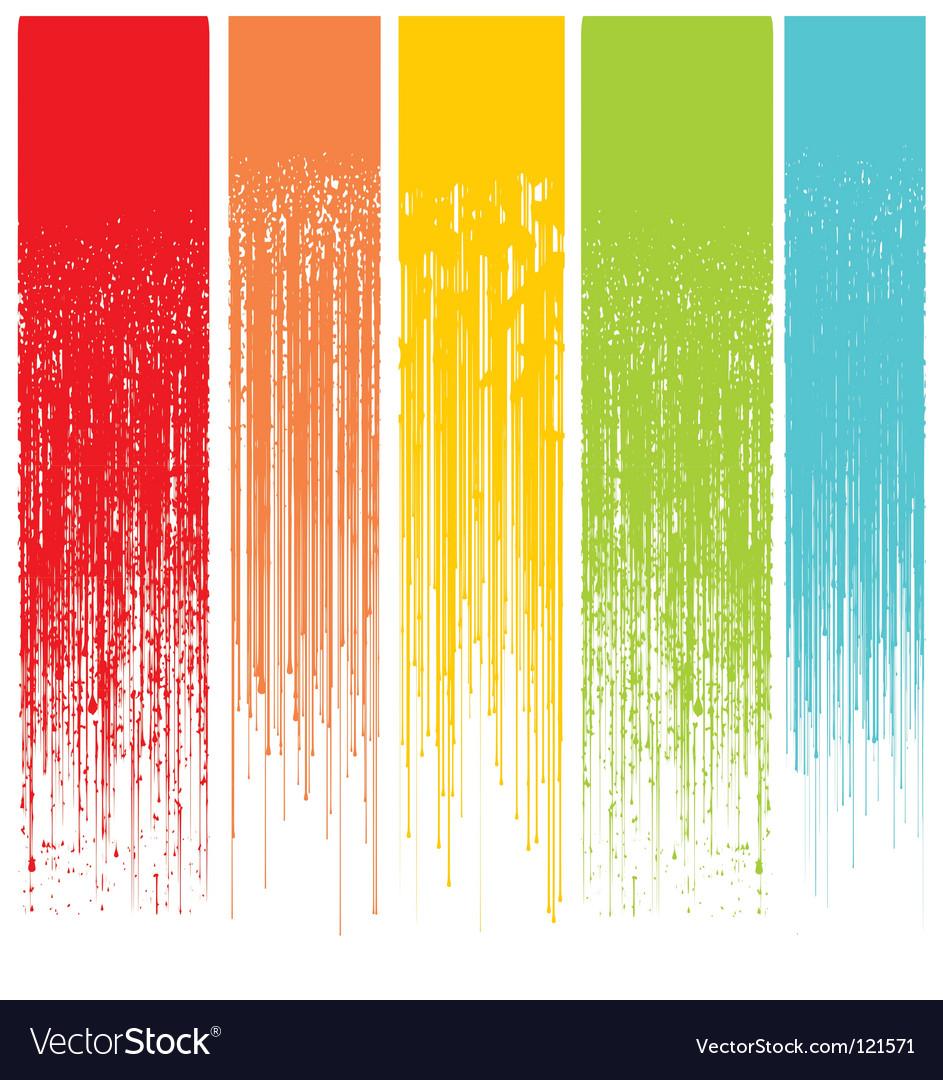 Grunge drips background