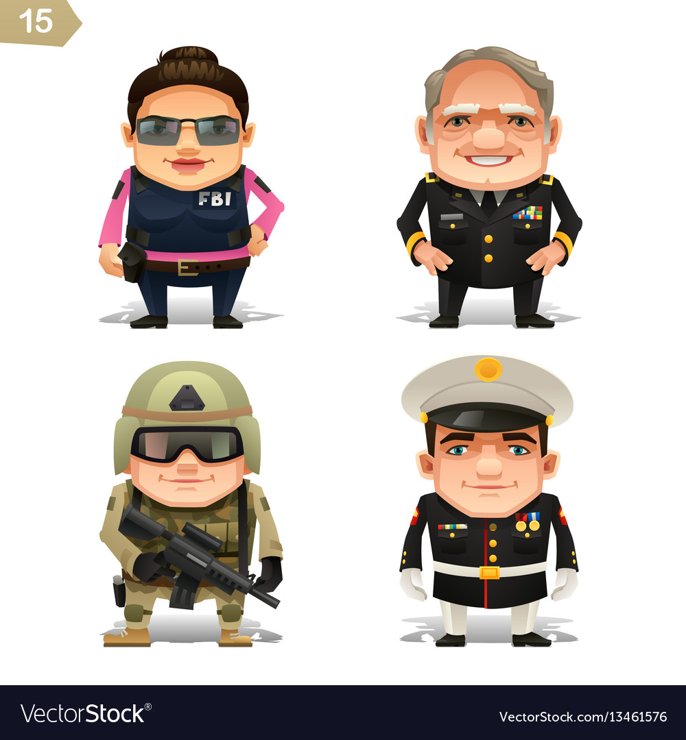 Military professions set