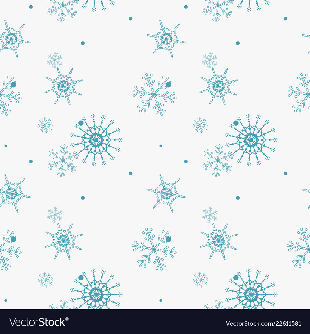 Abstract seamless pattern of falling blue