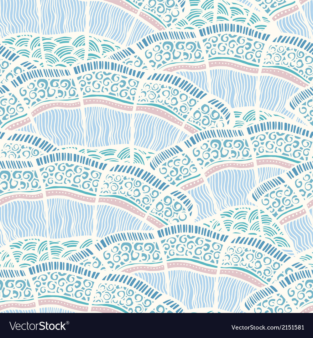 Seamless background pattern in retro style vector