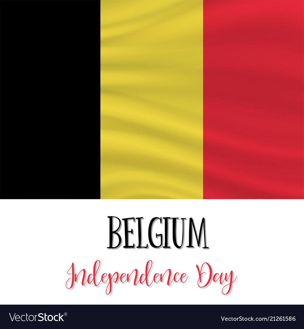 21 july belgium independence day background