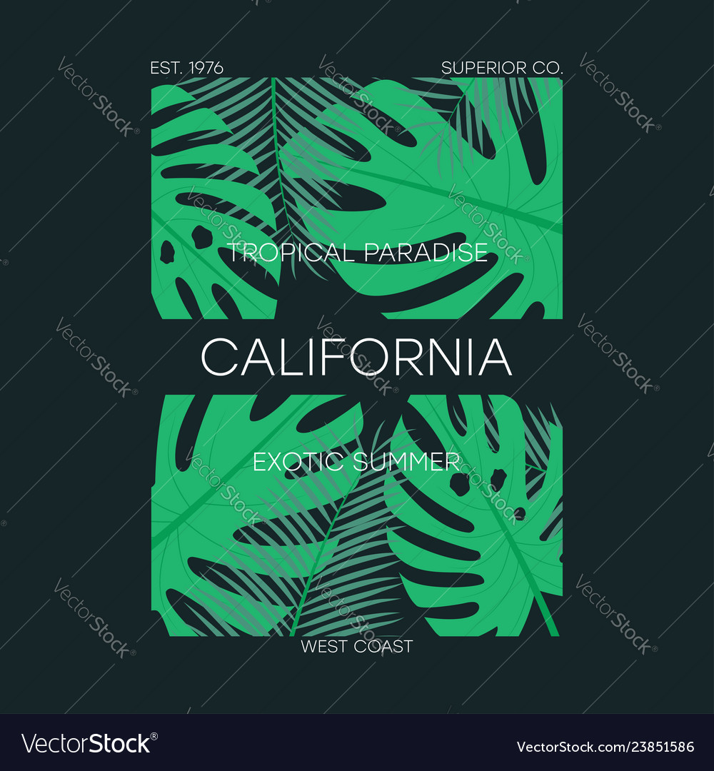 California leaves t-shirt