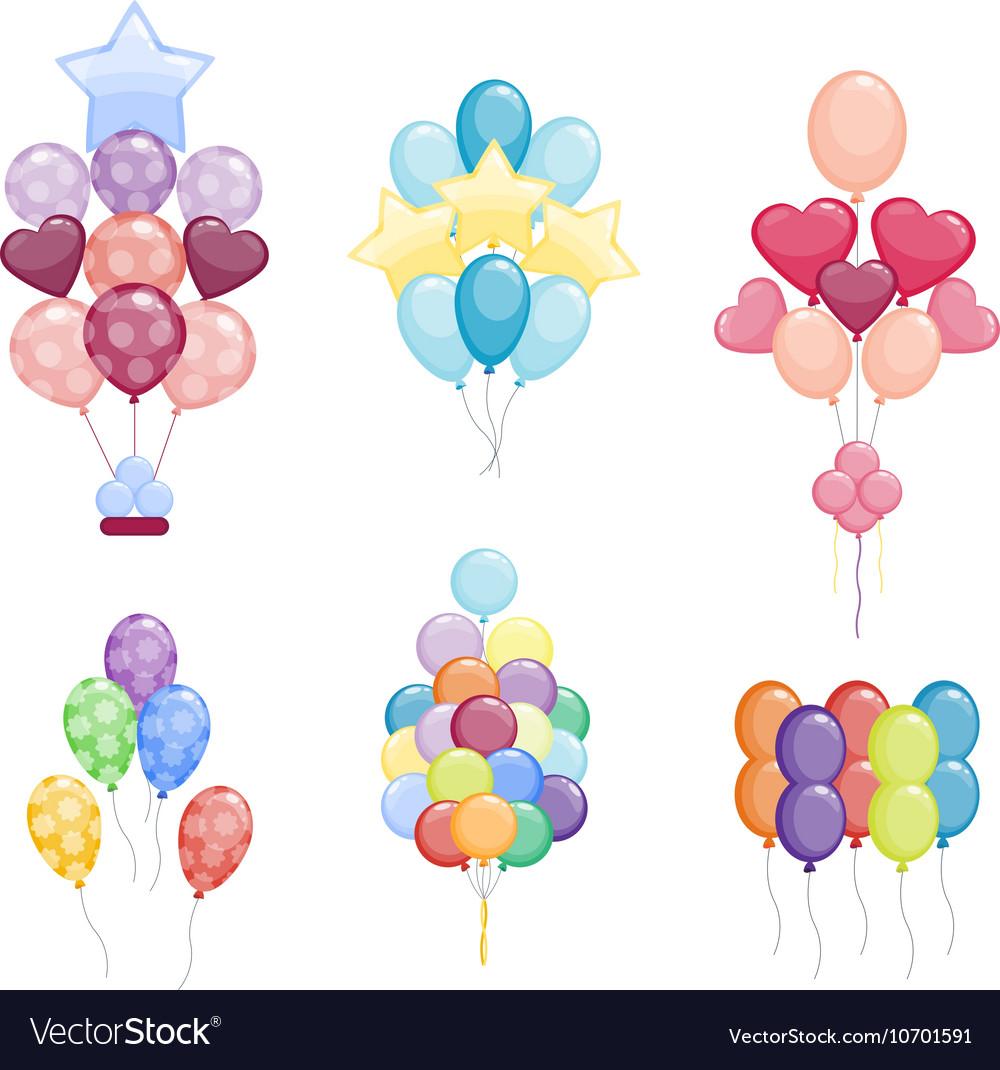 Balloon isolated vector image