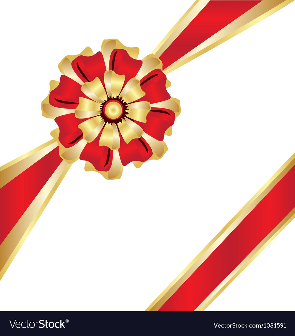 Christmas box gift ribbon