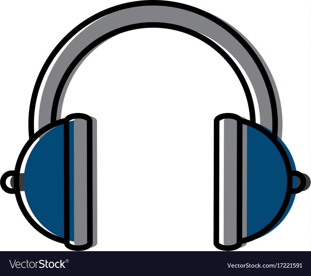Music headphones device