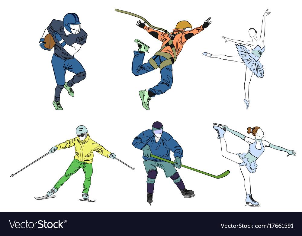 Set six sports