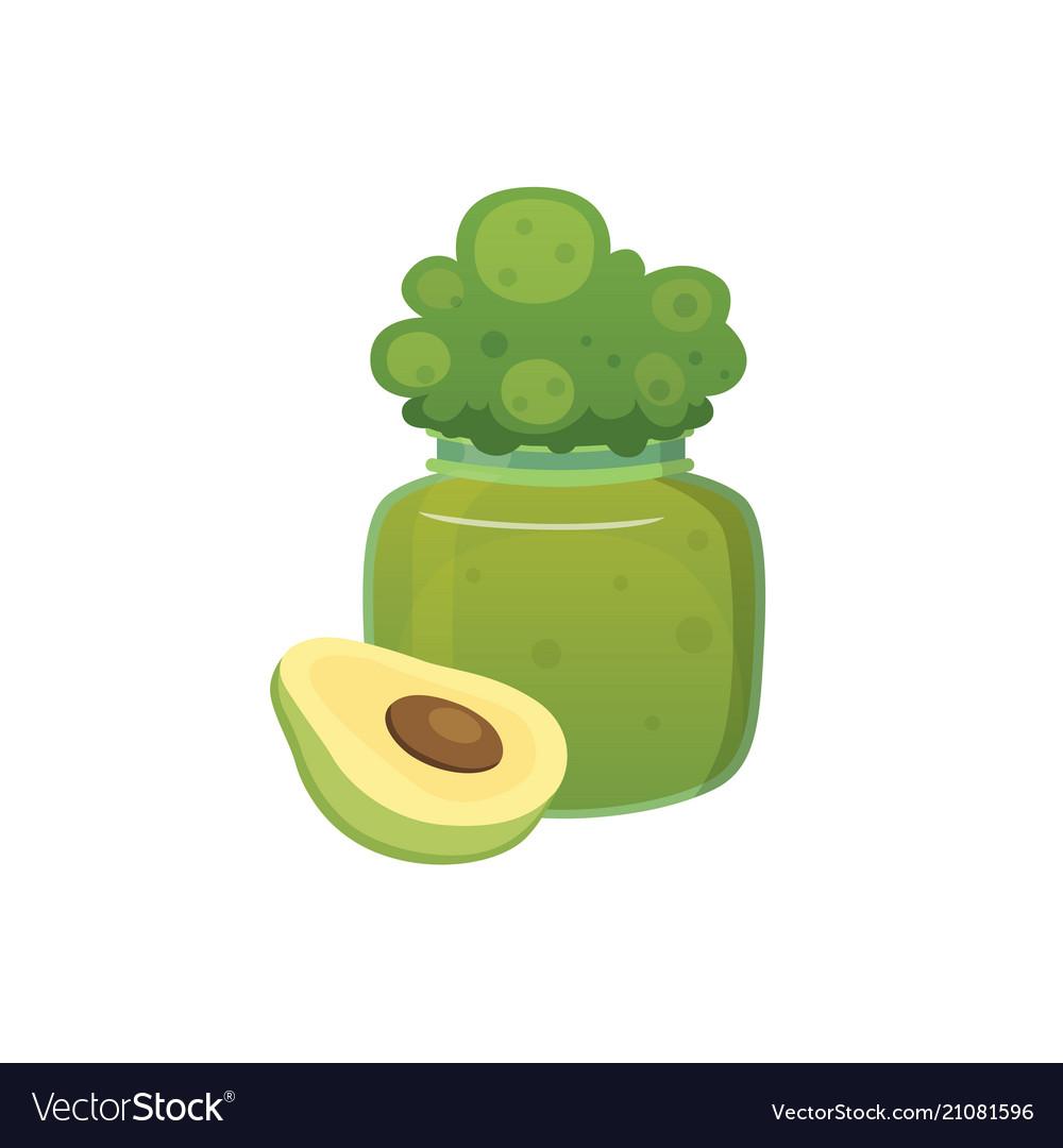 Fruit organic broccoli jam and smoothie