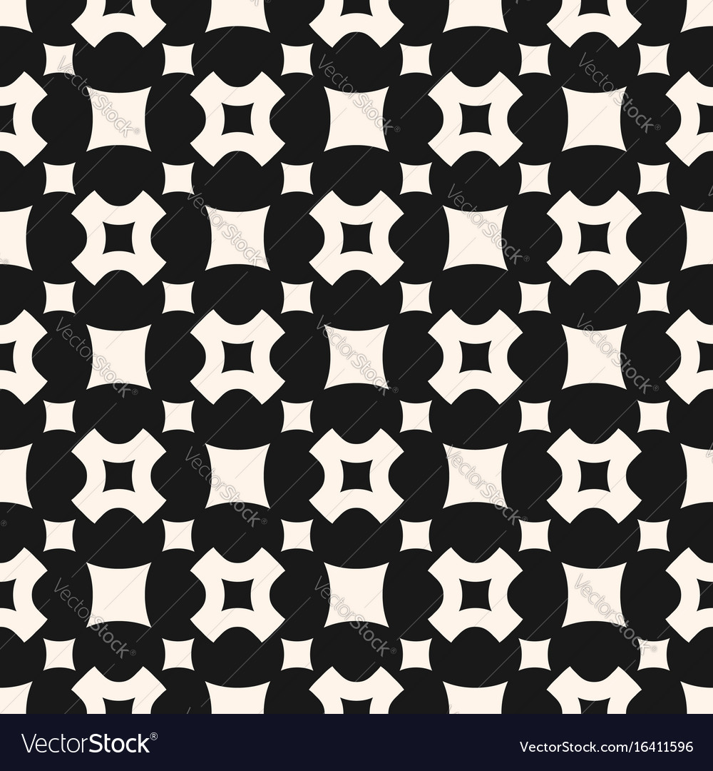 Seamless pattern rounded squares
