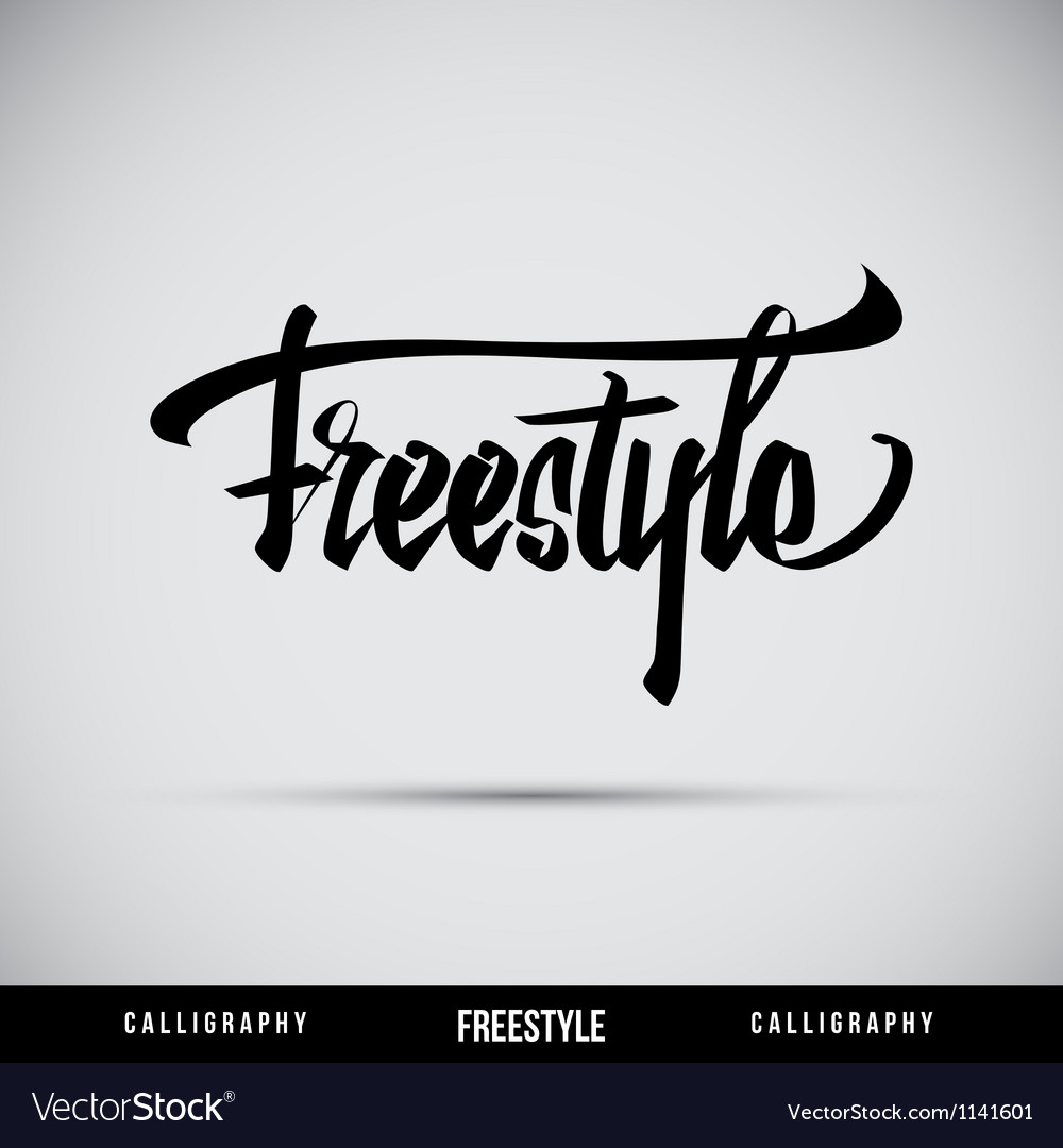 Freestyle Hand Lettering