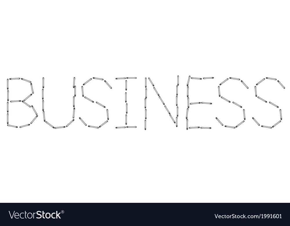 Modern business word background Eps 10