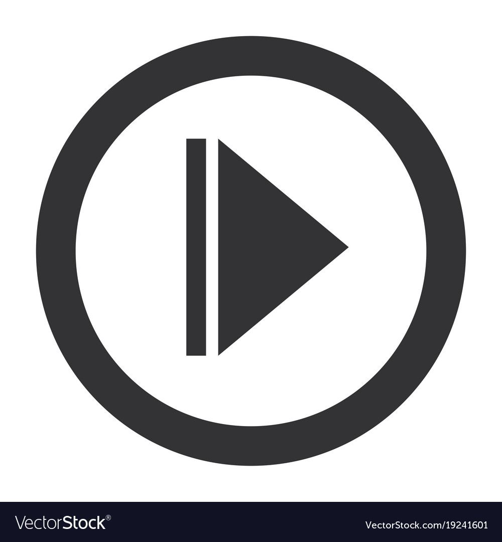 play button isolated icon royalty free vector image rh vectorstock com vector play button free vector youtube play button