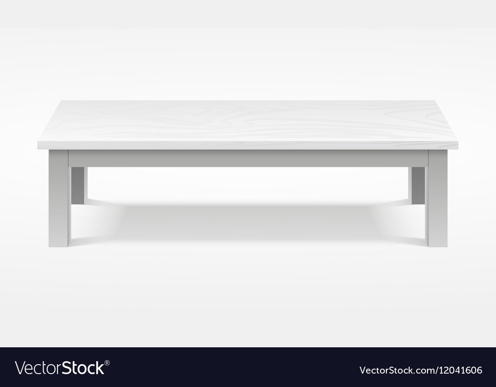 Modern white table exhibition presentation desk