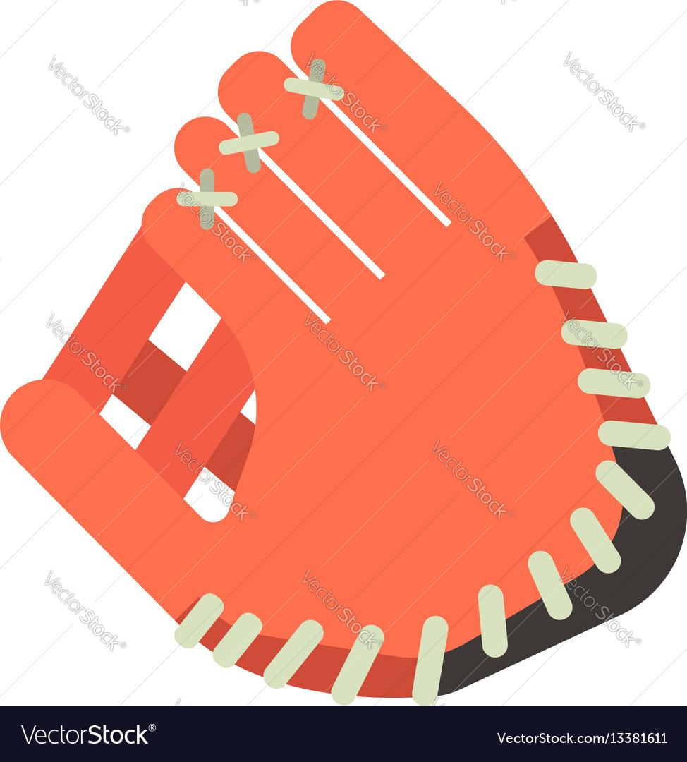 Baseball glove design elements game equipment