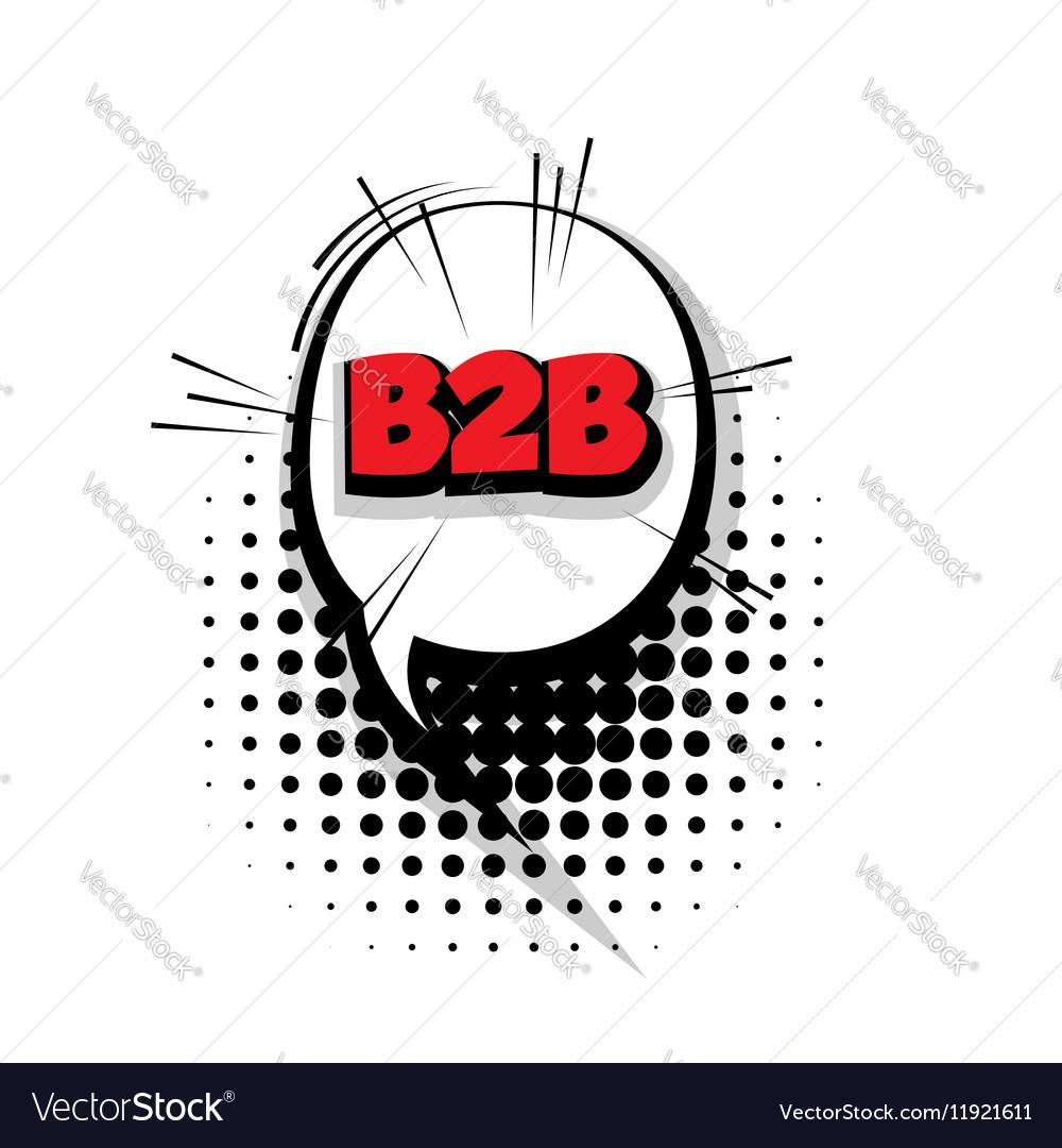 Comic b2bt arrr sound effects pop art