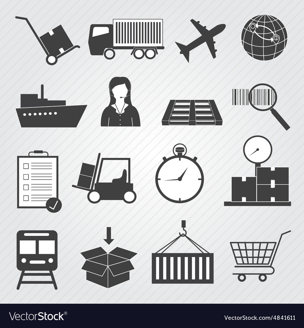 Logistic and Delivery Icons Set