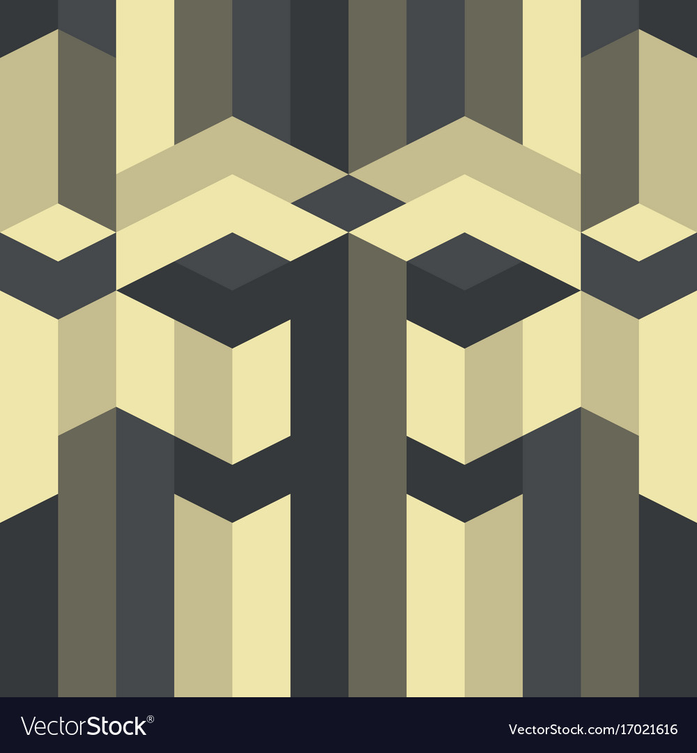 Abstract geometric pattern gothic art deco