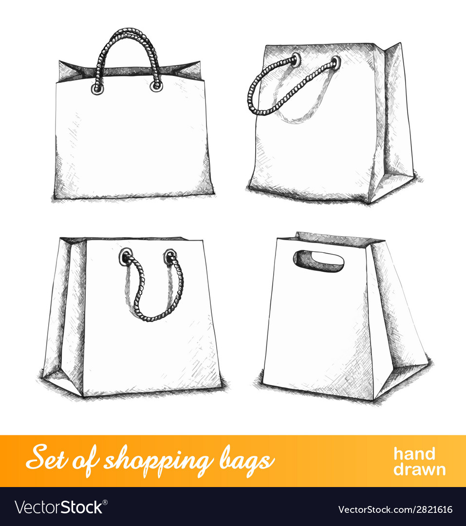 Bags for shopping set