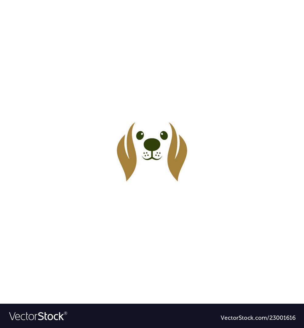 Dog animal logo