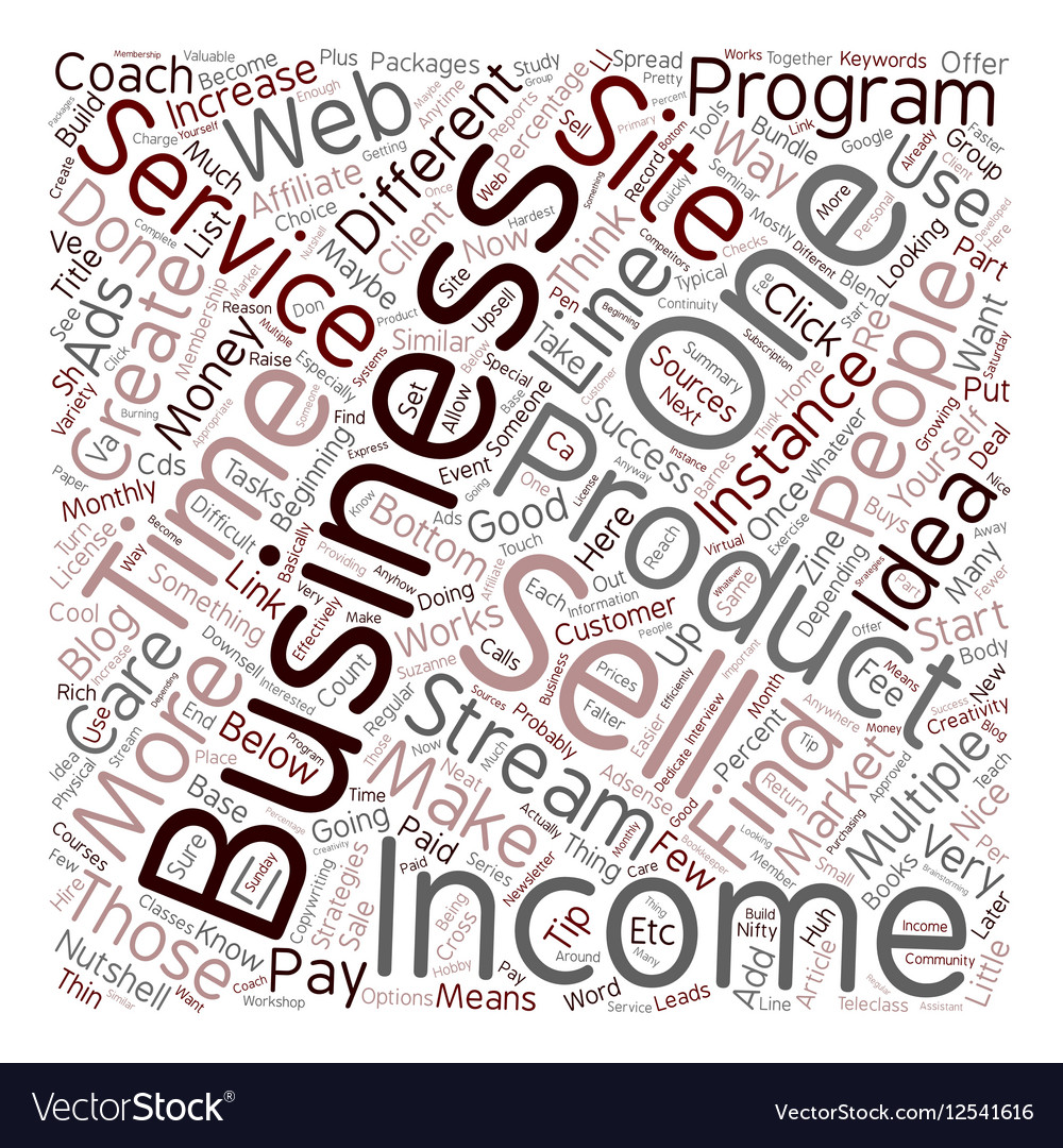 Income Streams You Can Add to Your Business And