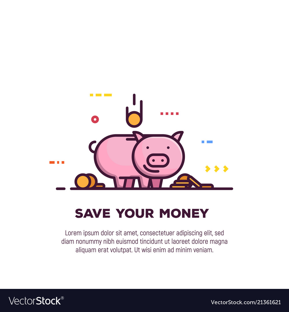 Money saving banner