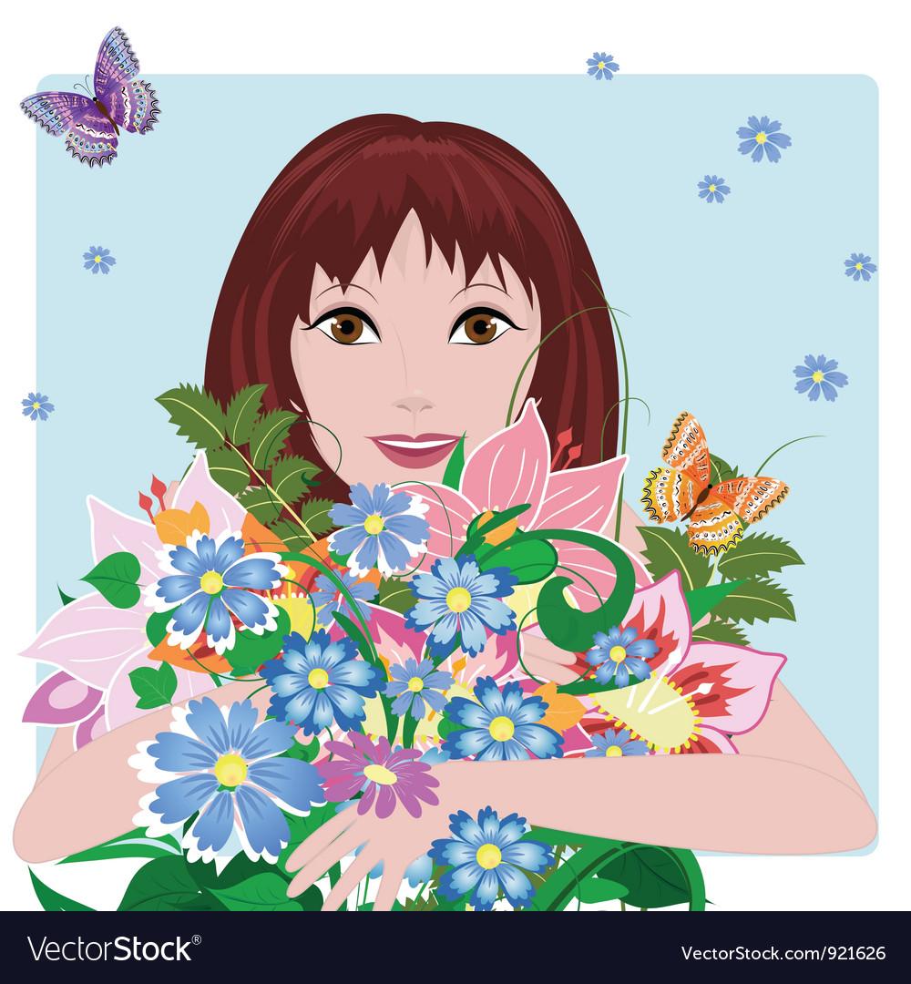 Woman bouquet3