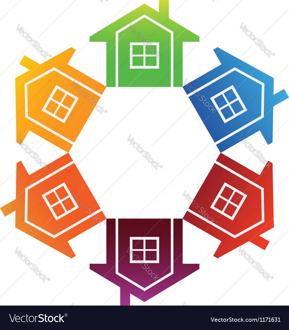 Housing Market vector image