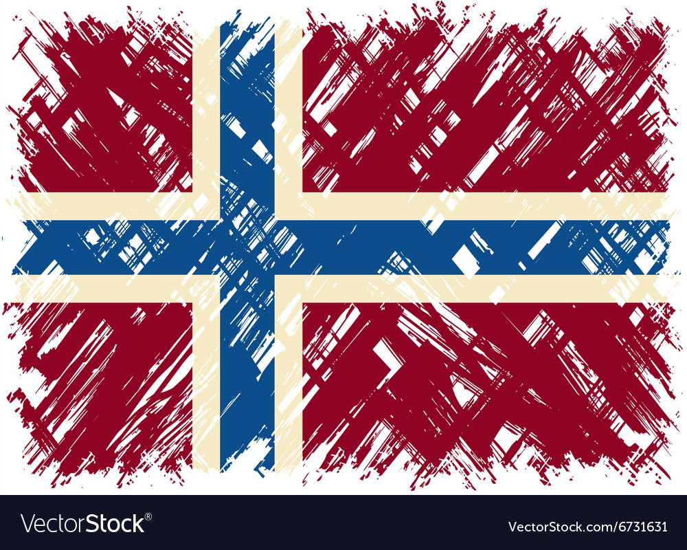 Norwegian grunge flag