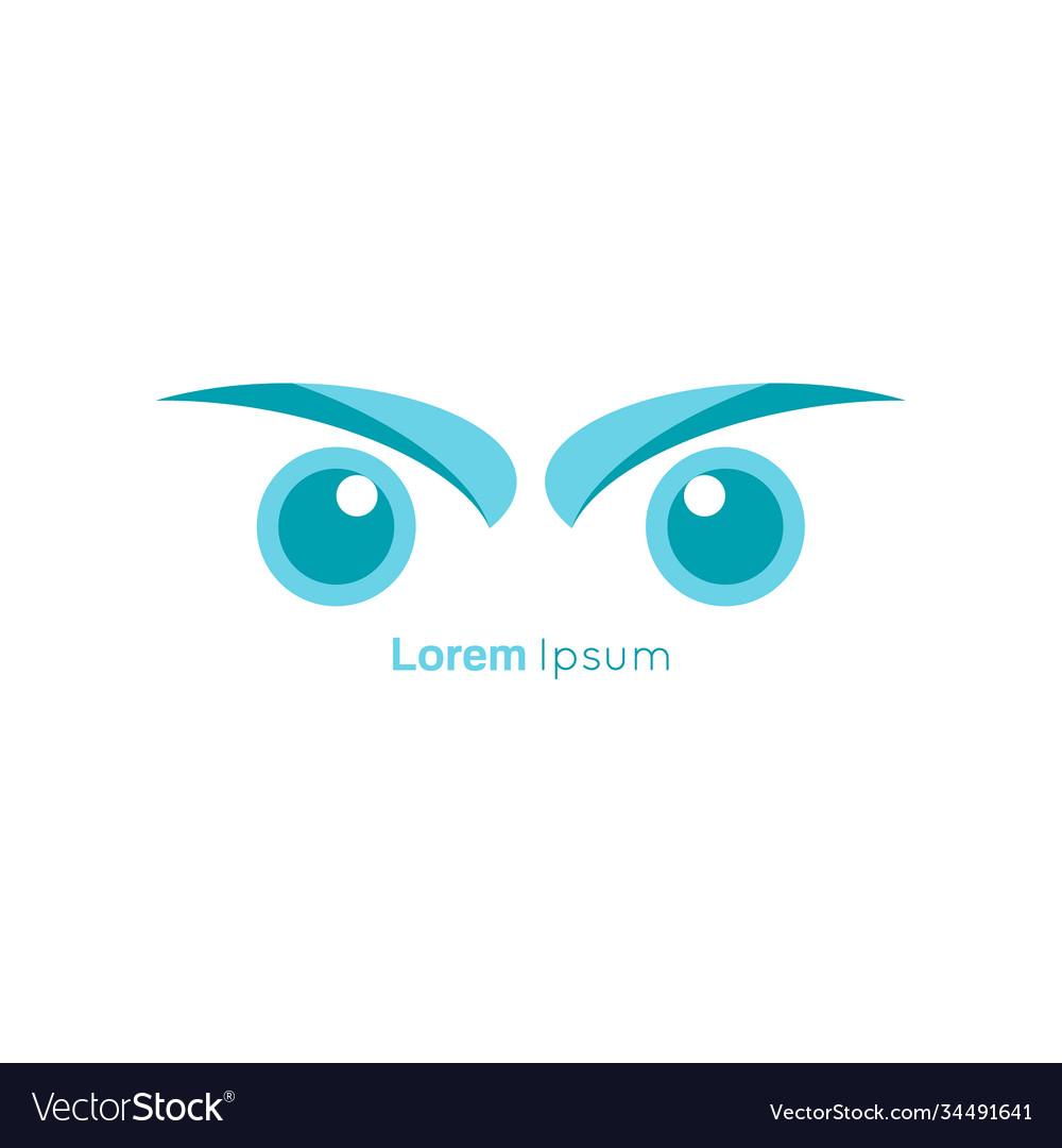 Bird eye symbol