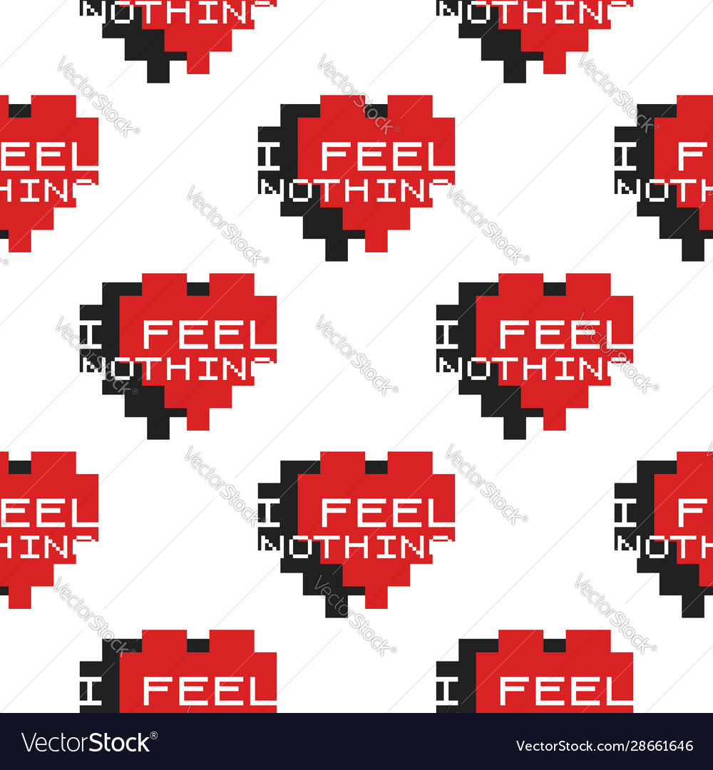 Funny valentines day typography seamless pattern