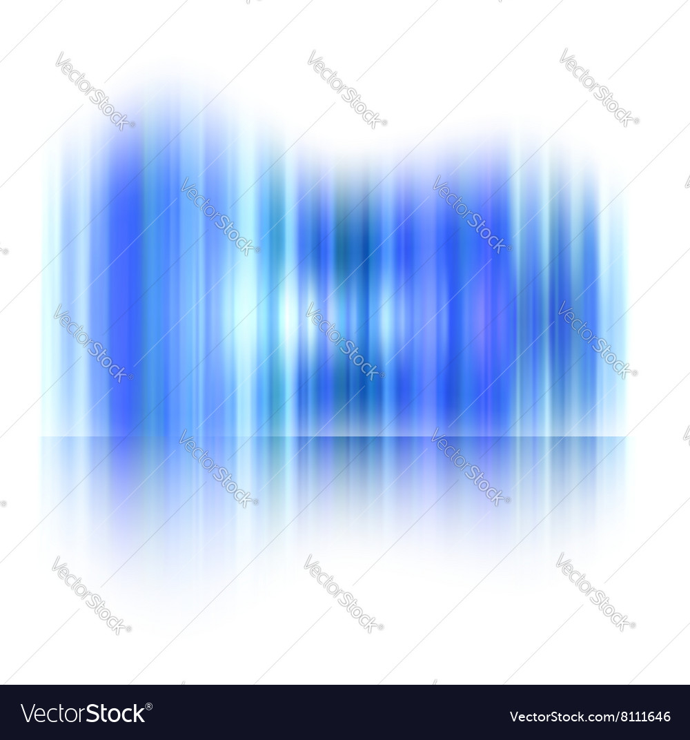 Northern lights Aurora polaris vector image
