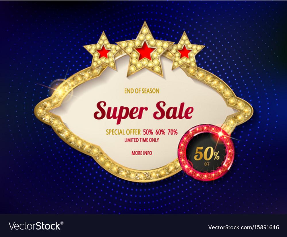 Retro light frame super sale