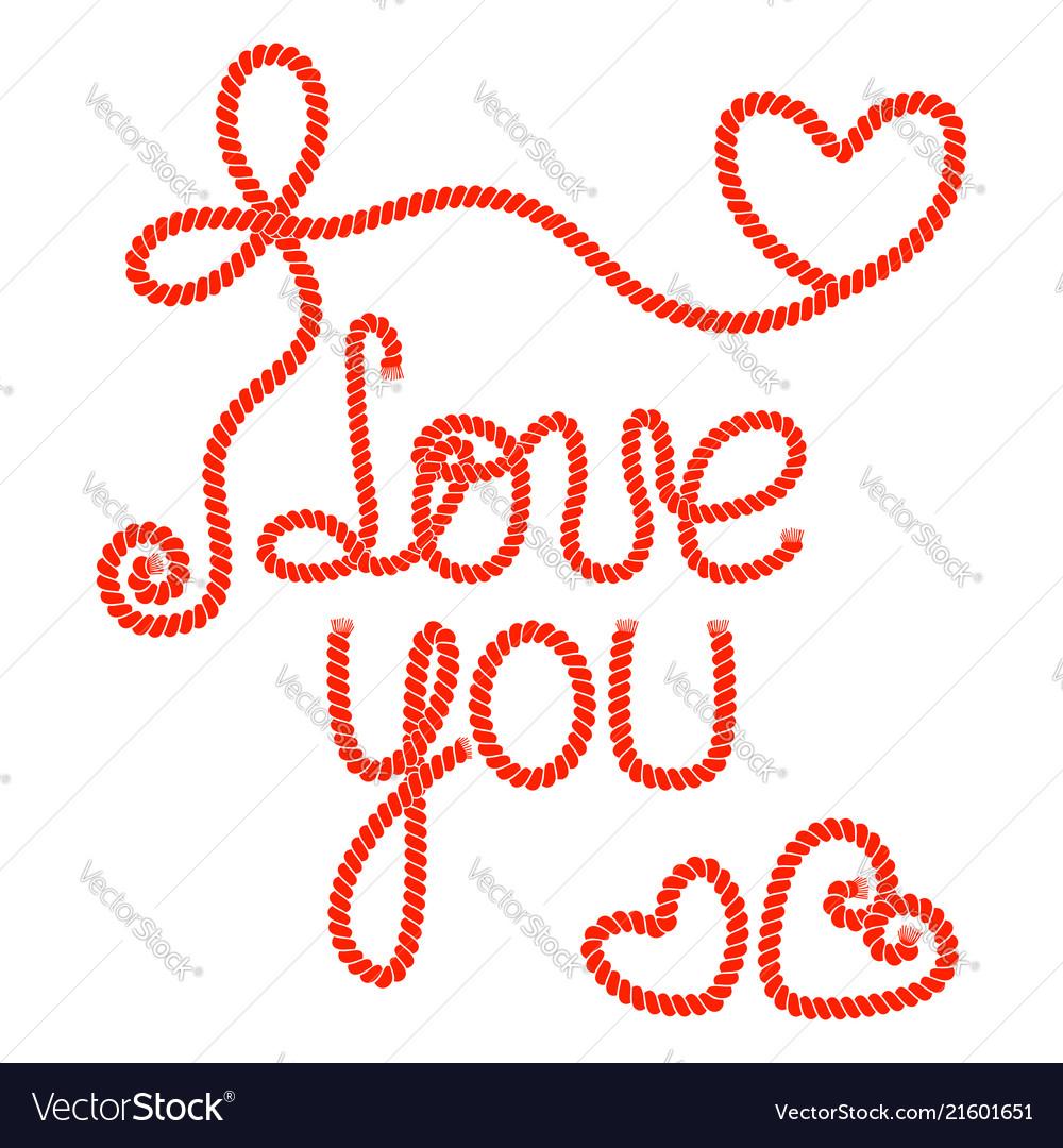 Inscription i love you