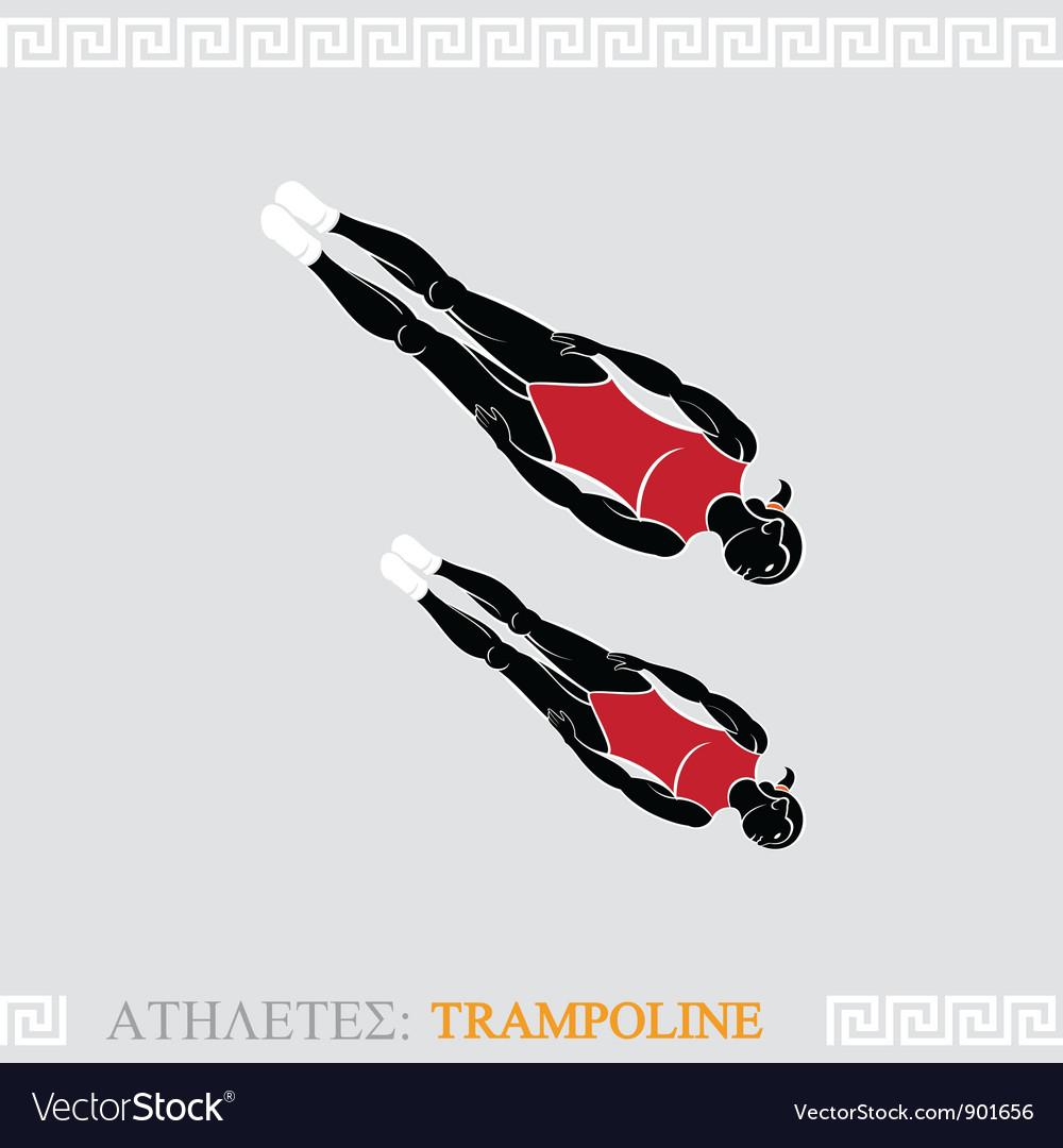 Athlete Trampoline Gymnast