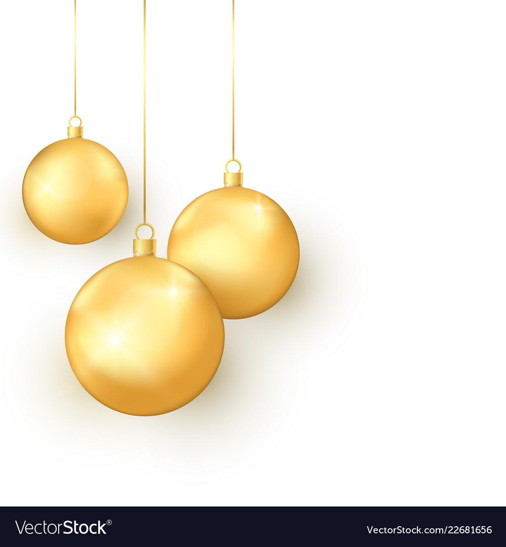 Elegance golden christmas toys set colorful