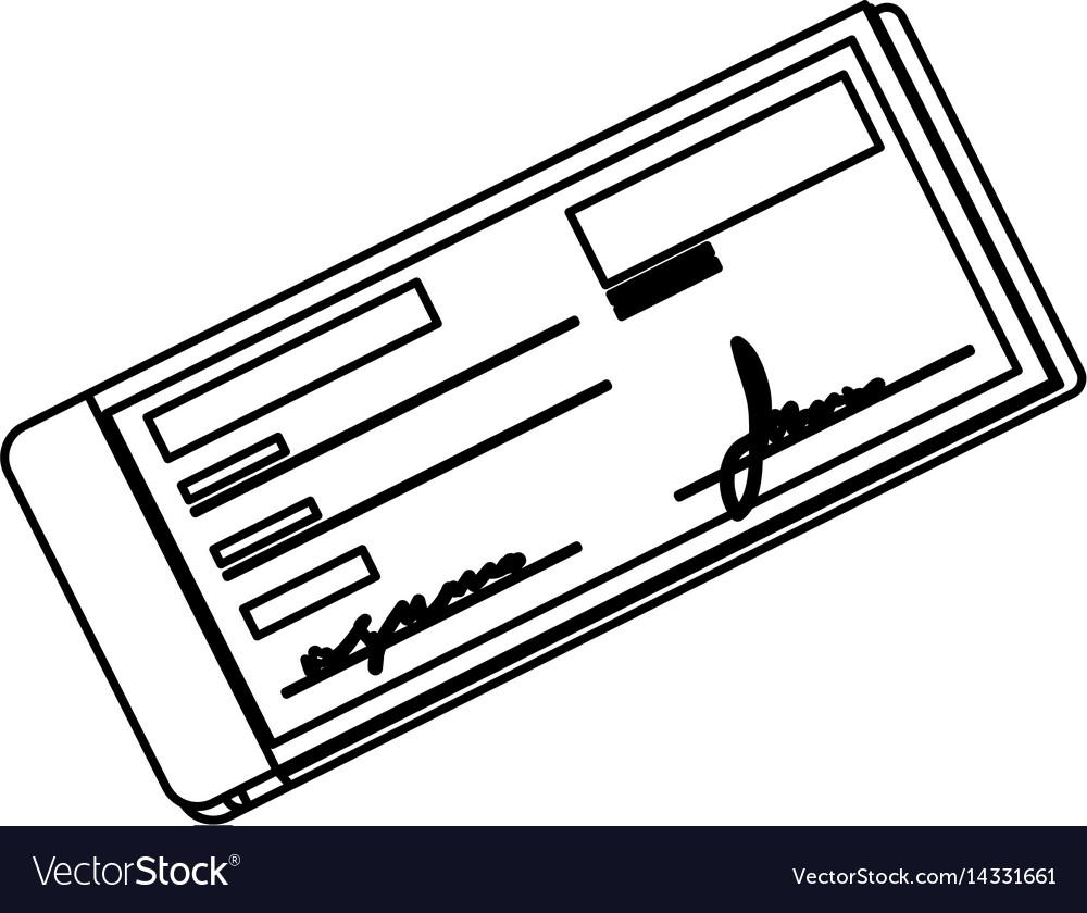 Bank check transaction