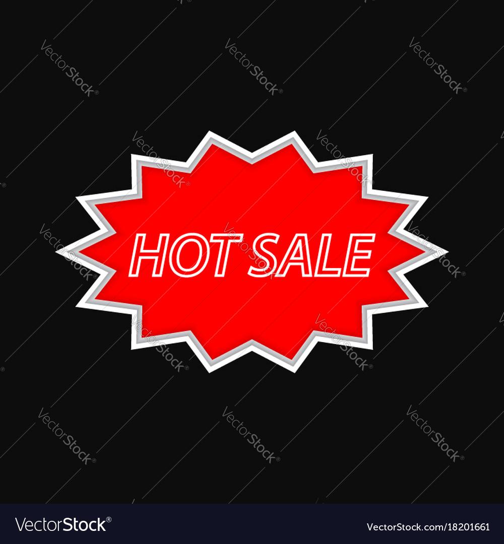 Hot sale vintage signboard on a dark background
