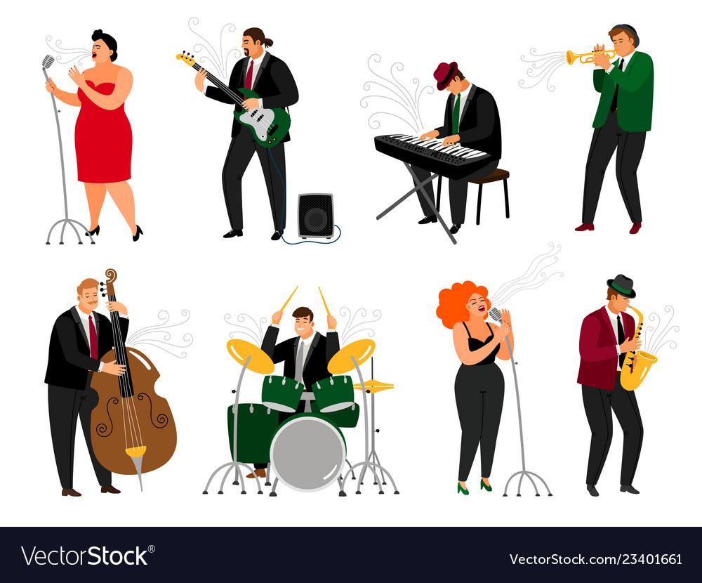 Jazz people set