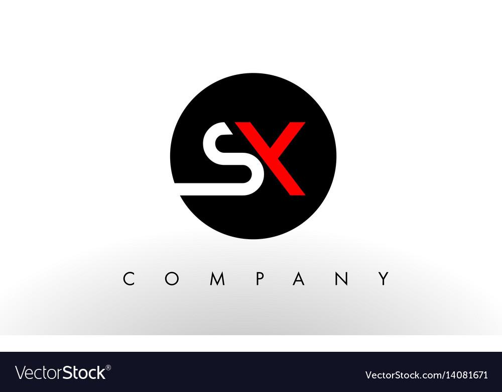Sx logo letter design