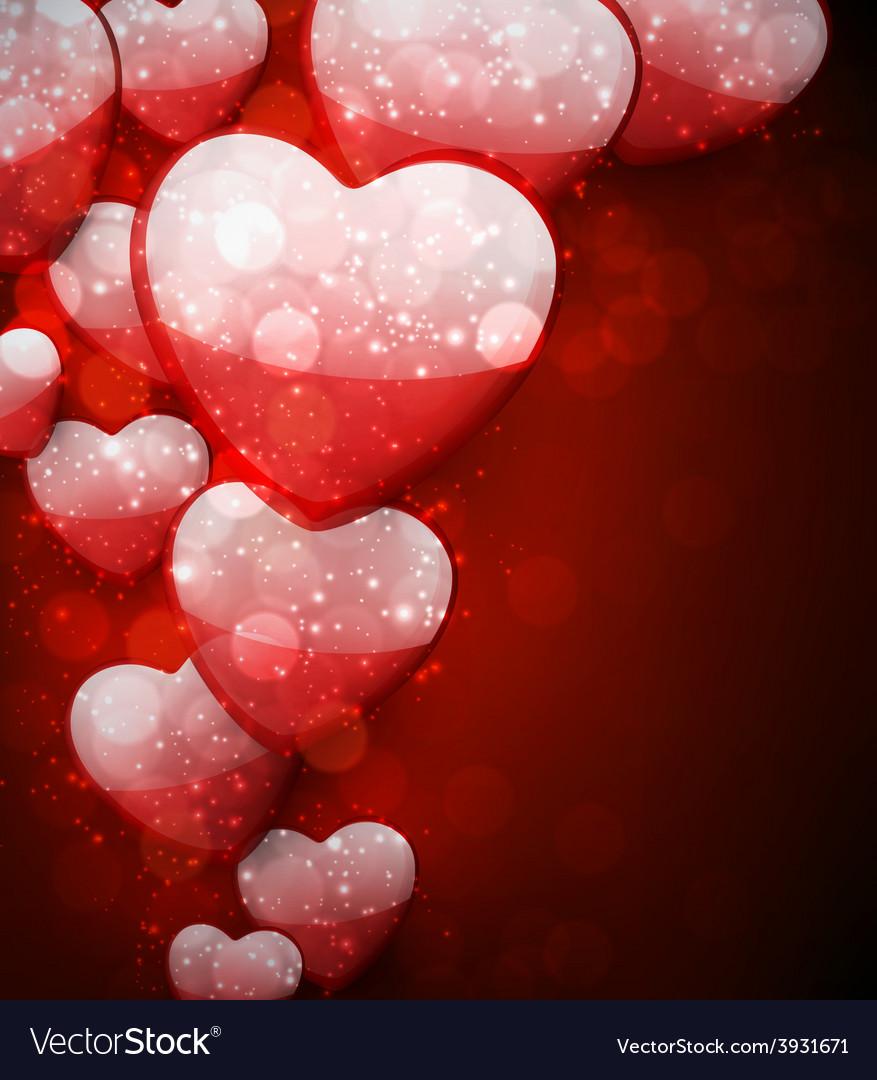 Valentines red background