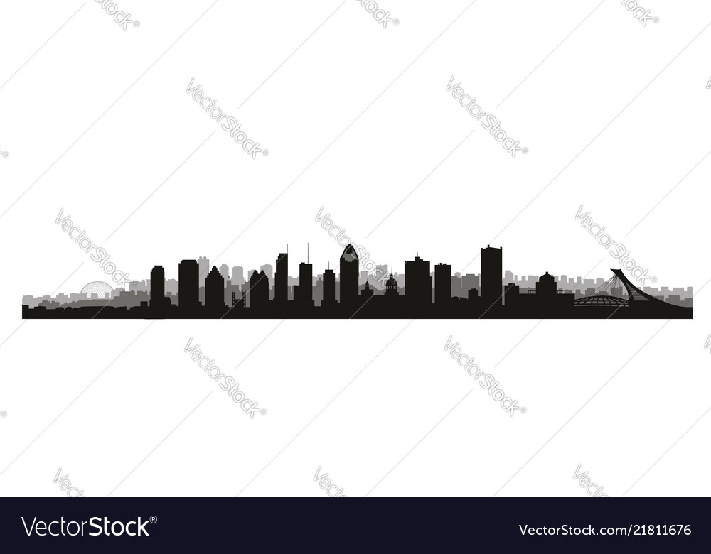Montreal city canada skyline canadian landmarks
