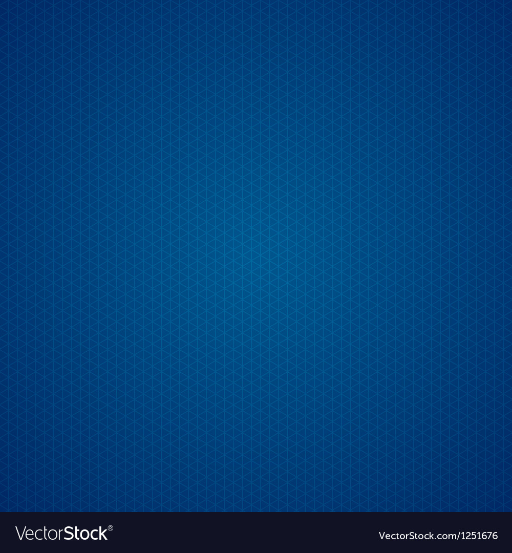 triangle dark blue graph paper background vector image