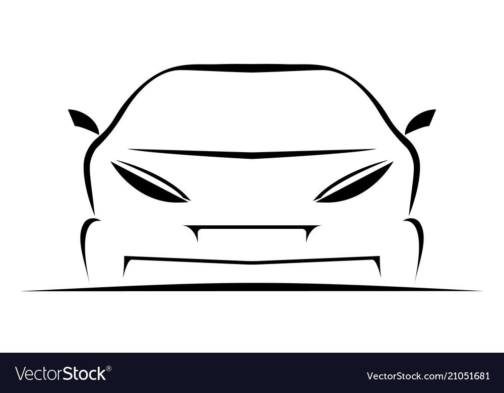 Simple car icon